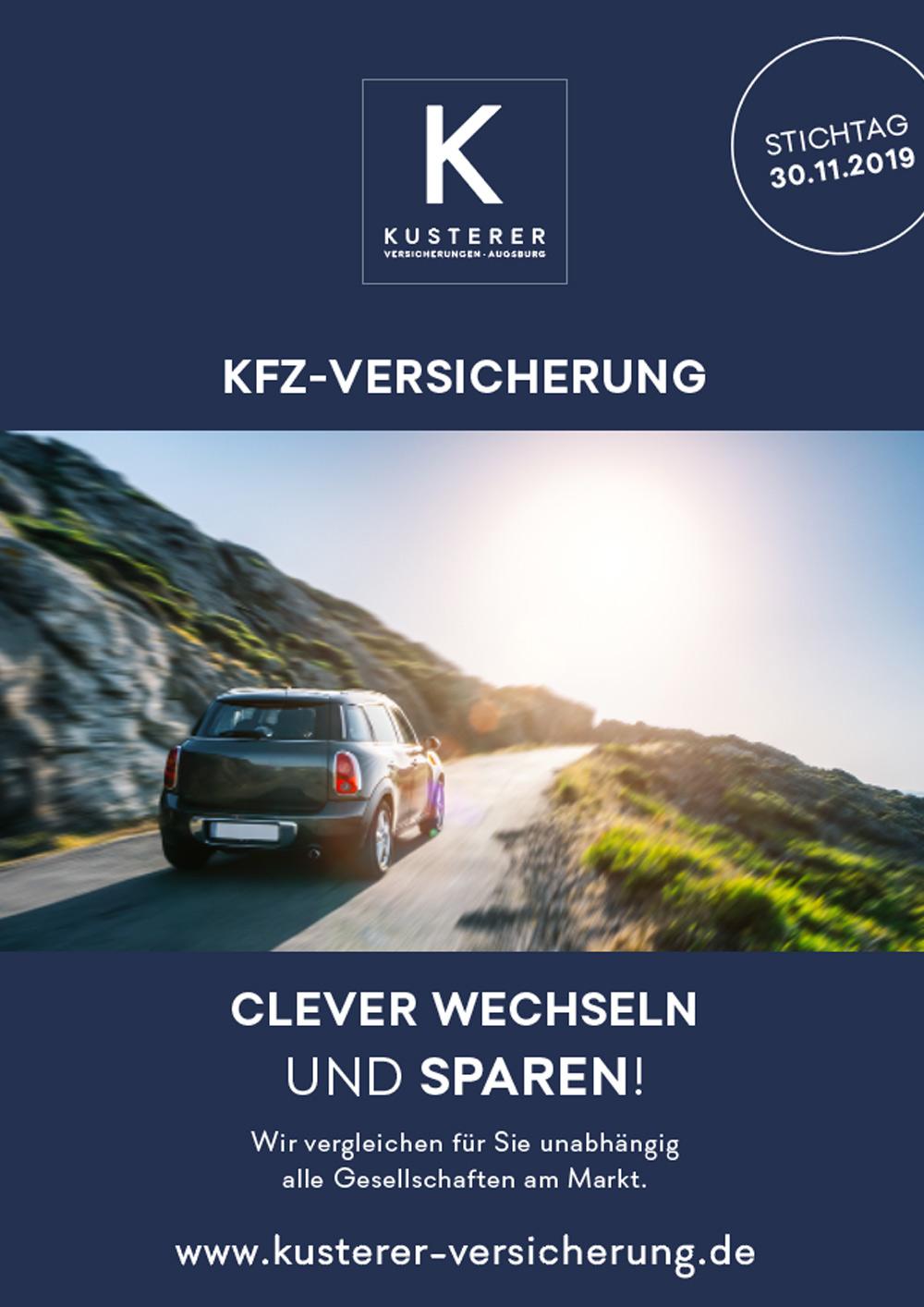 Flyer KFZ Versicherung